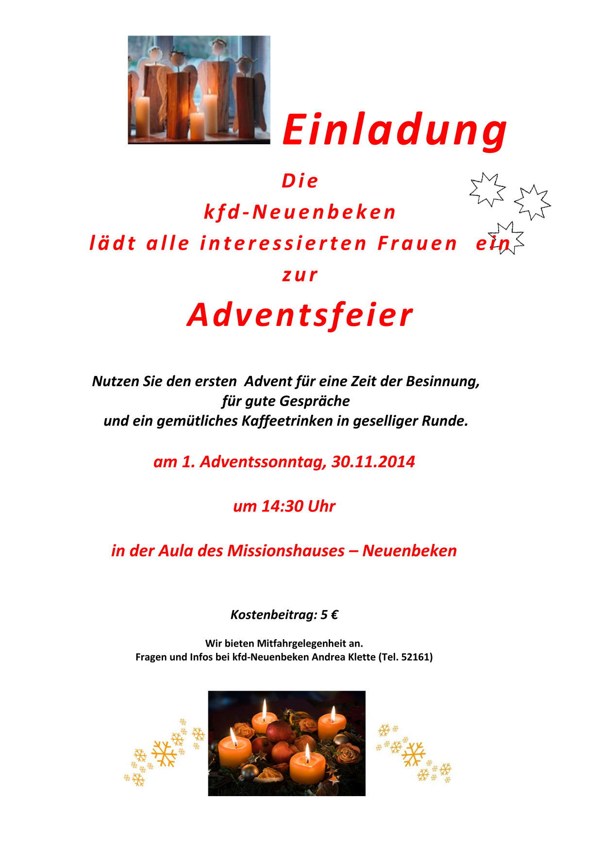 kfd advent 2014